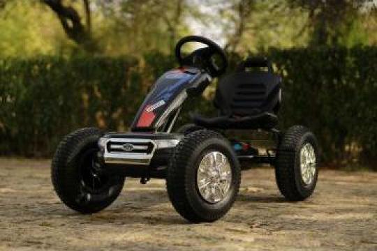 Jucarie, Masinuta Go Kart cu pedale Ford pentru copii