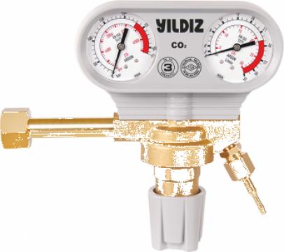 Reductor presiuneAR/CO2 Yildiz de la Sudometal Srl