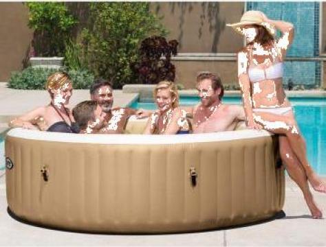 Spa si hidromasaj Intex Bubble Massage Pure Spa 6 persoane