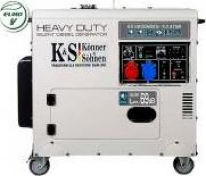 Generator de curent 6,8 kw insonorizat KS 9200DE-1/3 HD ATSR de la Magazin-scule.ro