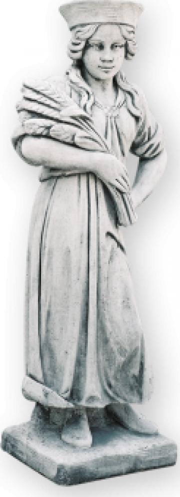 Decoratiune statuie gradina Vara S21 de la Cementarte Srl