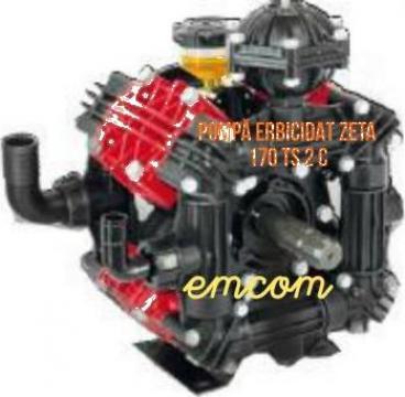 Pompa masina erbicidat Zeta 170 TS 2C de la Emcom Invest Serv Srl