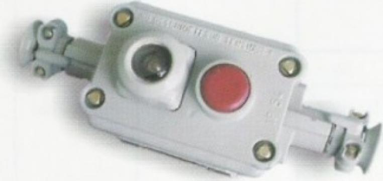 Cutie comanda si semnalizare 7015 cu 1 buton de la Global Electric Tools SRL
