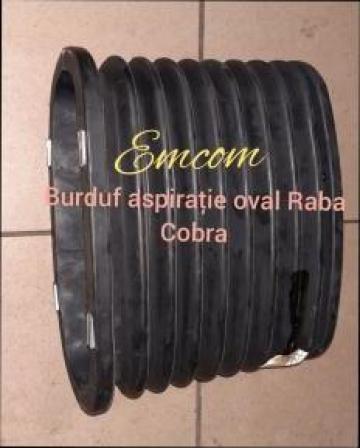Burduf aspiratie oval Raba cobra de la Emcom Invest Serv Srl