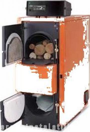 Cazan lemne gazeificare Fuego FU45 R de la PFA Chivaru Corneliu