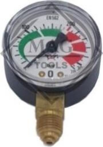 Manometru inalta presiune 0-315 bar de la Maer Tools