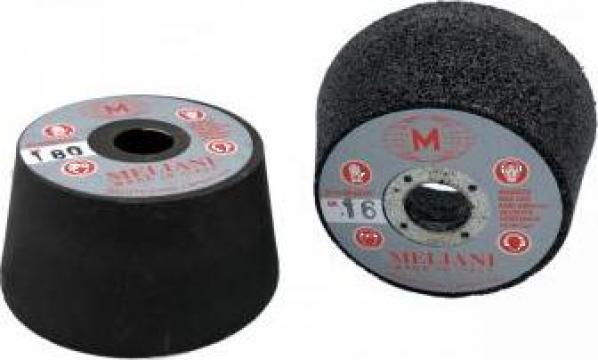 Pietre abrazive - oala (ceasca) 85/75x50 cu prindere M14