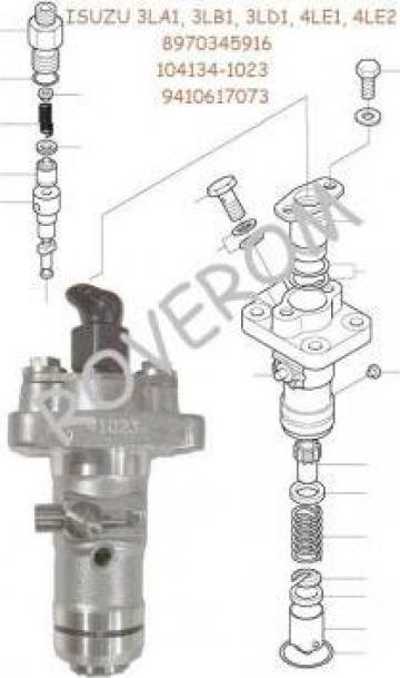 Pompa injectie Isuzu 3LA1, 3LB1, 3LD1, 4LE1, 4LE2