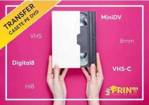 Transfer casete video pe DVD sau Stick de la Roty Design Srl