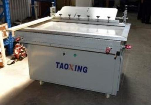 Masina de serigrafie - 1200 x 800 mm de la Kronstadt Papier Technik Sa