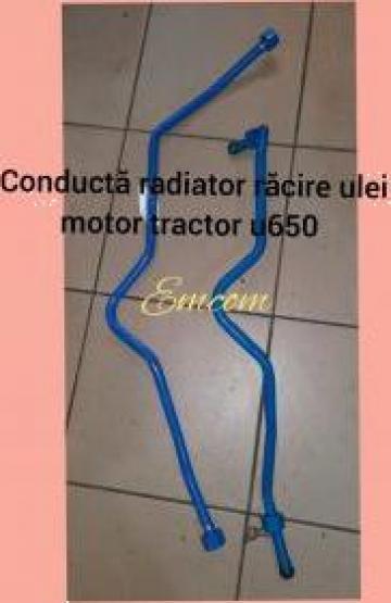 Conducta racire radiator ulei tractor U650