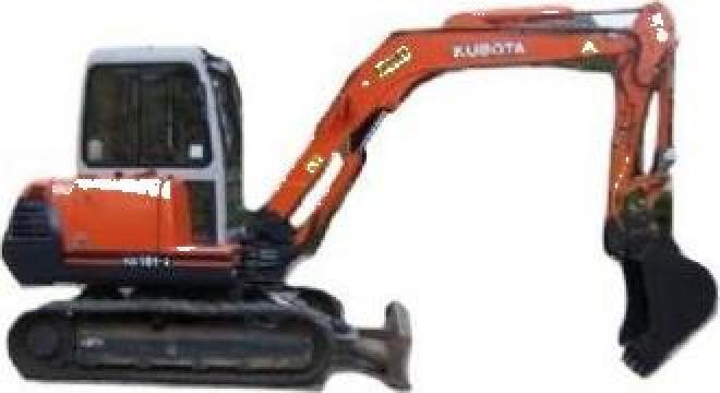 Piese excavator Kubota de la Rku Union Srl