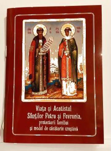 Carte, Viata si Acatistul Sfintilor Petru si Fevronia de la Candela Criscom Srl.