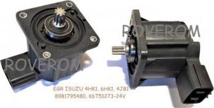 Supapa EGR 24V, Isuzu 4HK1, 6HK1, Case, Hidromek, Hitachi de la Roverom Srl