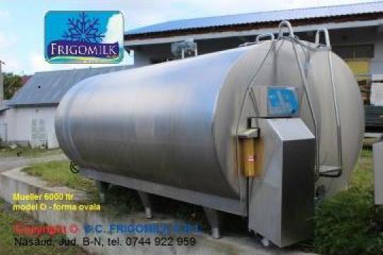 Racitor, tanc racire lapte 6000 litri, rezervor, bazin