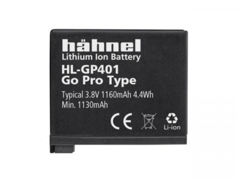 Acumulator Hahnel HL-GP401 pentru GoPro Hero 4 1160mAh de la Color Data Srl