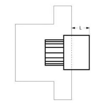 Adaptor buton ax 10x8 de la Kalva Solutions Srl