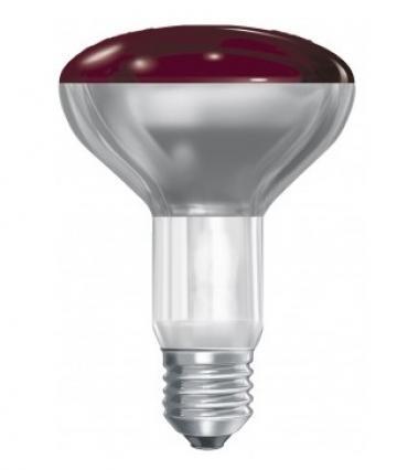 Bec infrarosu E27 150W BR125, 230-250V de la Kalva Solutions Srl