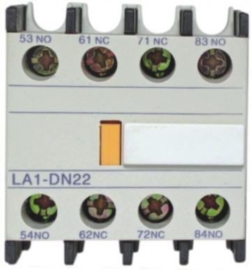 Bloc contacte auxiliare 2NO+2NC Comtec LA1-DN22