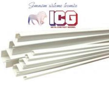 Canal cablu 20x10 adeziv 2ml de la ICG Center