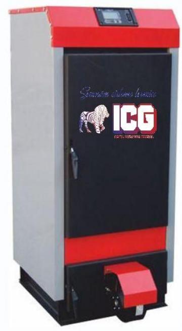 Centrala pe combustibil solid Ecowood Plus 20 de la ICG Center