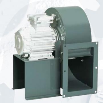 Ventilator centrifugal 400 grd CHMT/6- 450/185-2,2 de la Ventdepot Srl