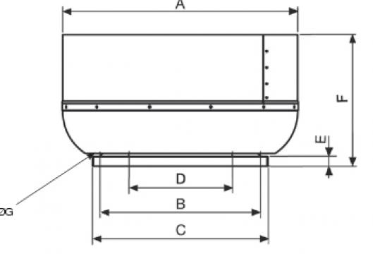 Ventilator centrifugal CRVT/4-560