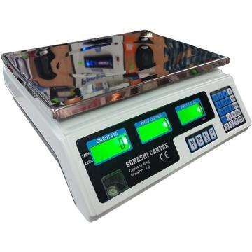 Cantar electronic digital Sonashi 40 Kg, cu acumulator