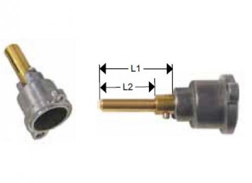 Cap robinet gaz PEL 21 lungime ax 35/28mm de la Kalva Solutions Srl