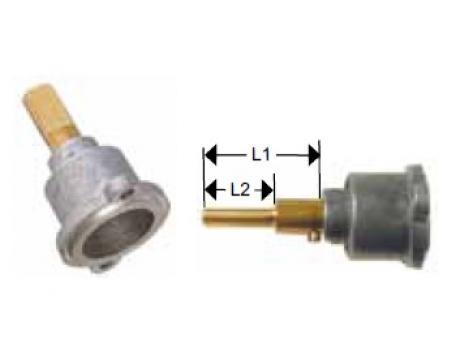 Cap robinet gaz PEL 23, lungime ax 25/-mm de la Kalva Solutions Srl