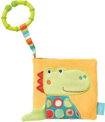 Jucarie Carte din plus pentru bebelusi - Crocodil