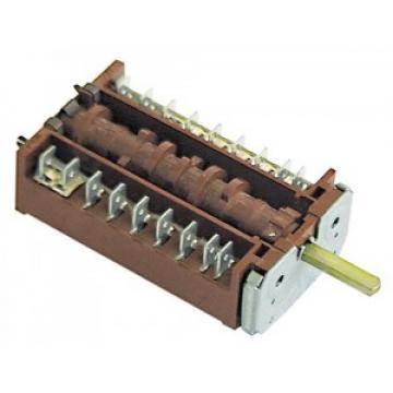 Comutator cu 10 pozitii, 7 poli, ax 6x4,6 mm de la Kalva Solutions Srl