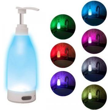 Dozator sapun Soap Brite cu lumina LED senzor de miscare de la Startreduceri Exclusive Online Srl - Magazin Online - Cadour