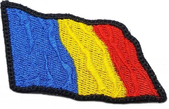Emblema brodata tricolor