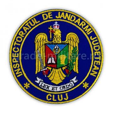 Emblema maneca inspectoratul judetean de jandarmi Timis de la Hyperion Trade