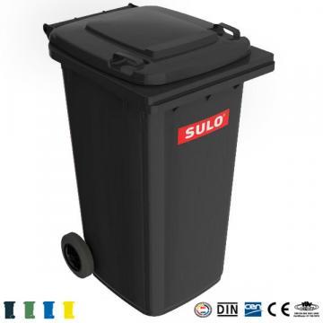 Europubela 240litri din plastic Sulo (Germania) - negru