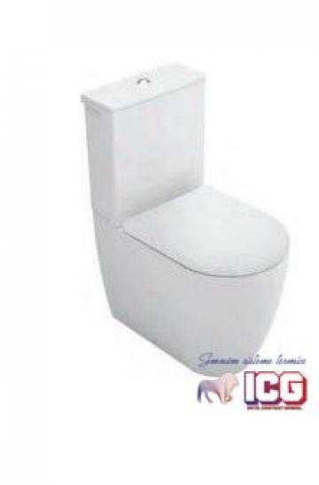 Vas wc Gala Coral BTW compact 62x36cm