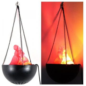 Lampa decorativa suspendata cu flacara falsa de la Startreduceri Exclusive Online Srl - Magazin Online - Cadour