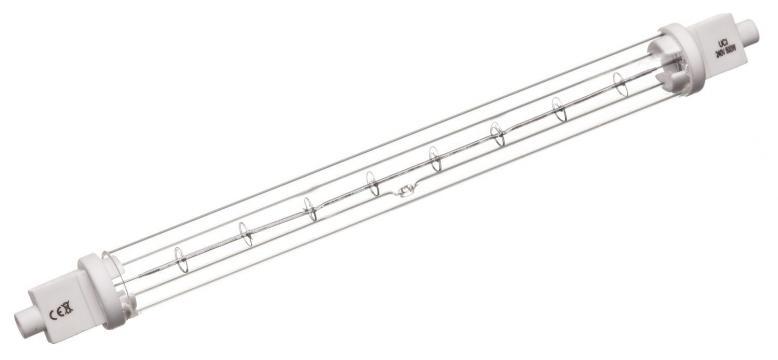 Lampa infrarosu R7s, 240V, 500W, L218mm 359536 de la Kalva Solutions Srl