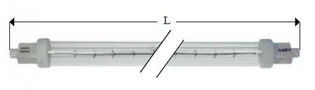 Lampa infrarosu R7s, 240V, 300W, L218mm 359535