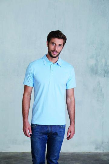 Tricou Men's Short Sleeve Jersey Polo de la Top Labels