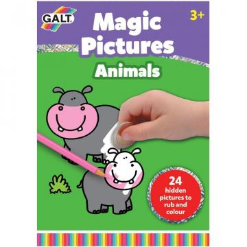 Carte de colorat, Magic Pictures - Razuim si coloram de la A&P Collections Online Srl-d