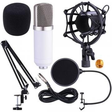 Microfon profesional de Studio Condenser BM-700, cu stand de la Startreduceri Exclusive Online Srl - Magazin Online - Cadour
