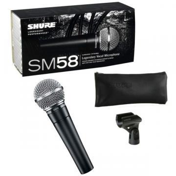 Microfon profesional dinamic cardioid Shure SM58 de la Startreduceri Exclusive Online Srl - Magazin Online - Cadour