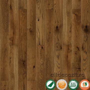 Parchet triplustratificat stejar Nugat Piccolo 14 mm