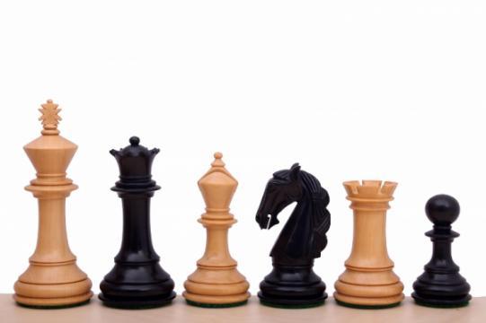 Piese sah lemn Staunton 6 Columbia de la Chess Events Srl