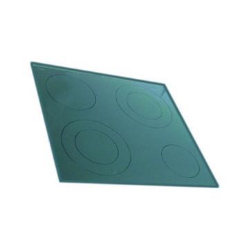 Placa vitroceramica 510x548mm