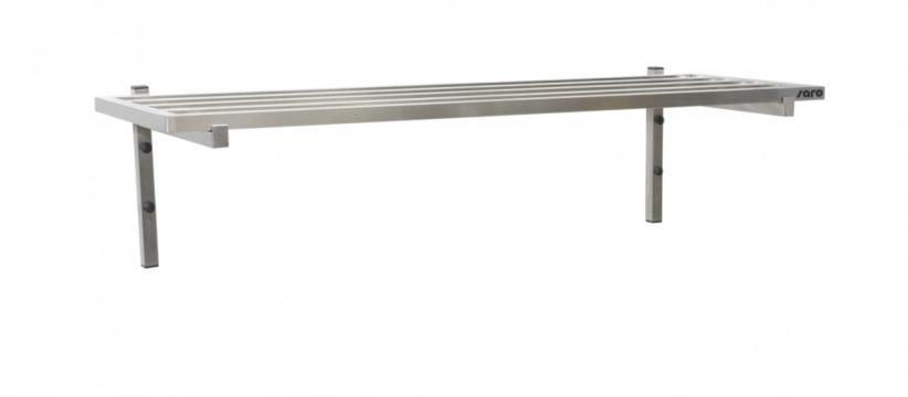 Polita de perete cu tije, 1600mm