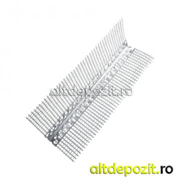 Profil colt aluminiu cu plasa de la Altdepozit Srl