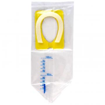 Punga urinara copii, sterila - 100ml (100 buc)